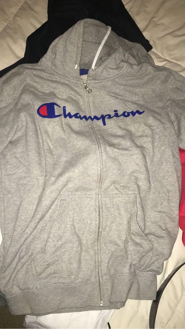 Sudadera Champion gris