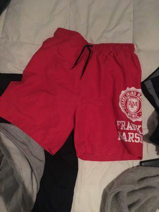 Bañador Franklin rojo talla S