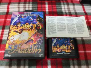 Aladdin para megadrive