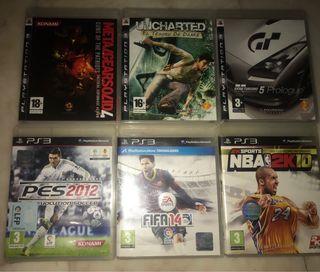 Lote de juego PS3