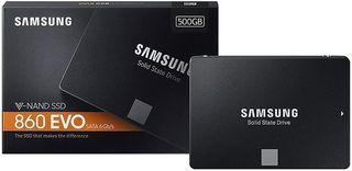 Disco duro SSD Samsung EVO 860 de 500Gb