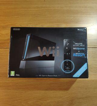 Wii Negra ¡COMPLETA!