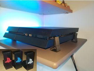 Soporte para PS4 playstation 4 en dos colores 3d