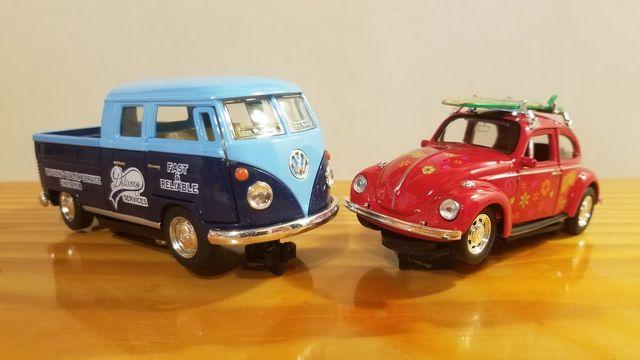 Volkswagen Escarabajo Hippy y Hippy Surf 1/32 Slot