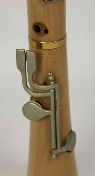 Flauta de madera tenor e Do