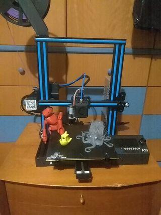 Impresora 3D Geeetech A10 mejorada