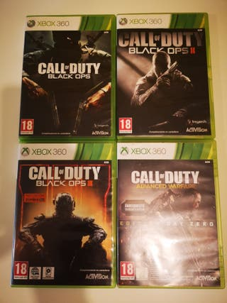 Saga Call of dutty xbox 360