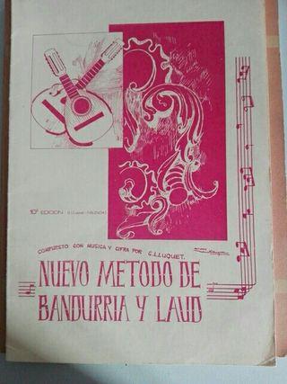 Metodo bandurria y laud lluquet.