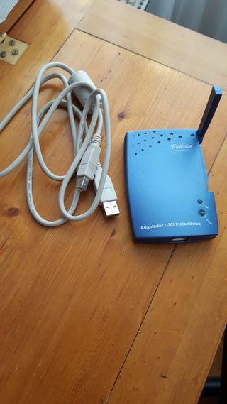 Adaptador wifi de Movistar