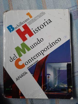 libro de historia, Anaya