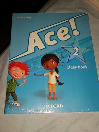 Libro de inglés Class Book Ace 2 NUEVO