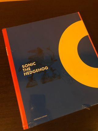 Sonic The Hedgehog Libro Arte