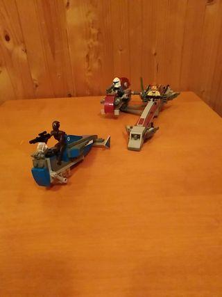 LEGO STAR WARS - BARC SPEEDER CON SIDECAR