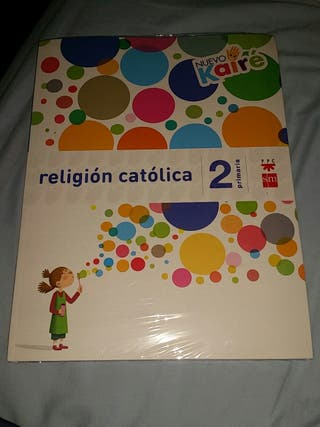 Libro de religión Católica proyecto Kaire NUEVO