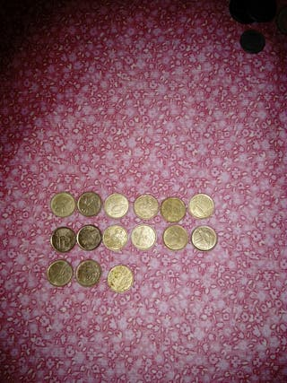 lote monedas 5 pesetas.