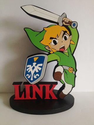 Link figura de madera The legend of zelda
