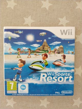 Juego Wii. Wii Sports Resort