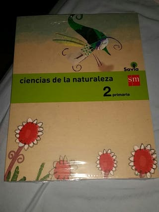 Libro de ciencias de la naturaleza SM NUEVO