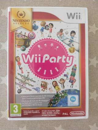 Juego Wii. Wii Party