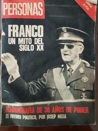 Lote prensa Franco