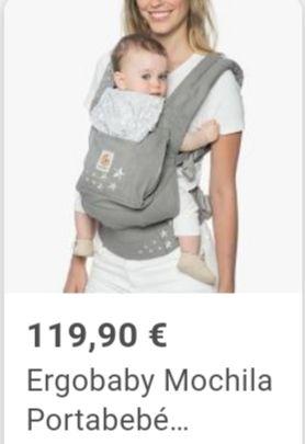 porta bebe ergobaby NUEVO a mitad de precio