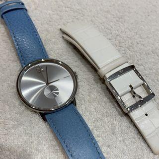 Reloj Calvin Klein Esfera Plateada Mujer