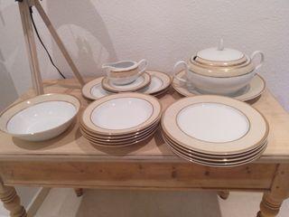 Vajilla porcelana 12 servicios nueva