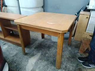 Mesa plegable madera