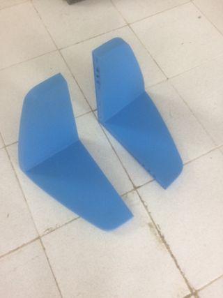 Estanteria azul