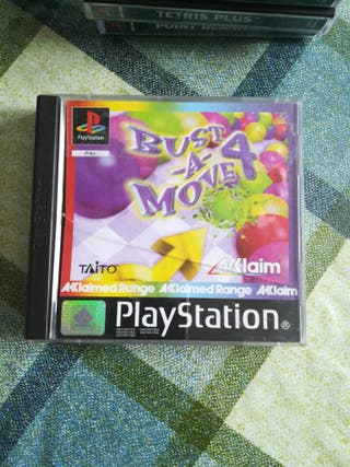 Bust a Move 4 Ps1 Pal España Ps1 Psx PS One