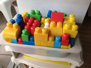 Piezas apilables construcción