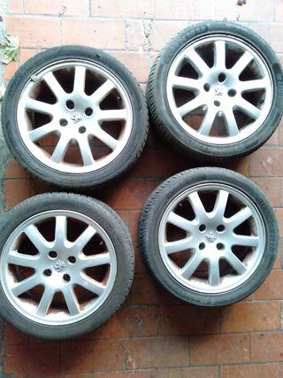 Llantas 206 GTi