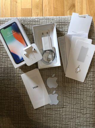 iPhone X gris 256Gb