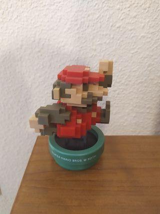 Figura Amiibo Mario 8-bit 30 Aniversario Limitada