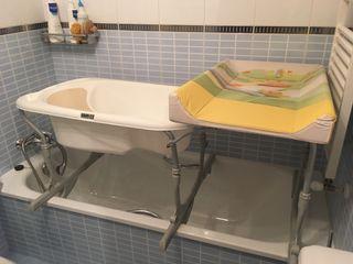 Bañera - cambiador bebé