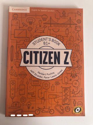 Citizen Z student's book B1+