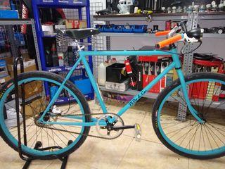 preciosa bici estilo café racer
