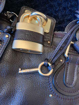 Brown Leather Chloé Bag
