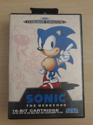 Juego sonic Mega Drive