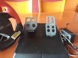 volante + pedales