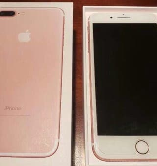 iPhone 7 Plus 256 gb Rosa