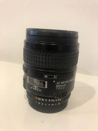 Objetivo Nikon Nikkor 60mm 1:2.8 Macro