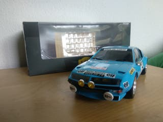 Renault Alpine rally A310 1/18