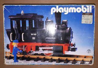 Playmobil tren caja vacía