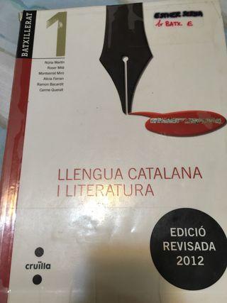 Libros bachillerato-Llengua catalana i literatura