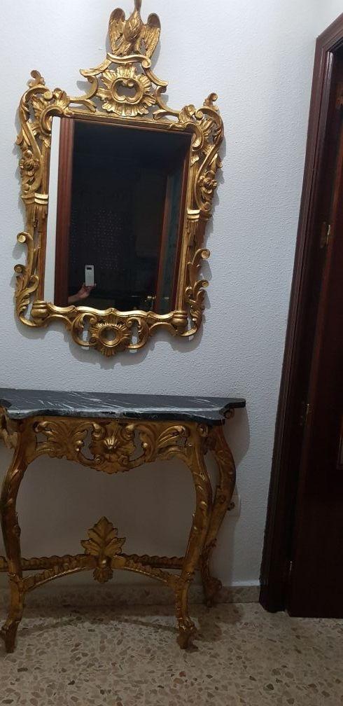 Consola con Espejo