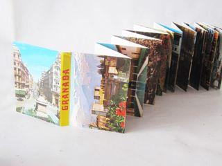 Librillo souvenir de imágenes de Granada, años 80