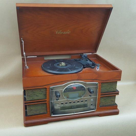 RADIO TOCADISCOS-VINTAGE AÑOS 60- VINILOS-CD-FM