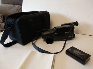 Video camara Telefunken VM4300 con maletin y bater