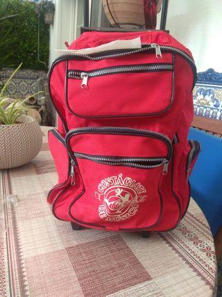 maleta carrito de dos ruedas para colegio